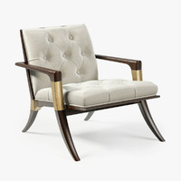 3d baker athens lounge chair