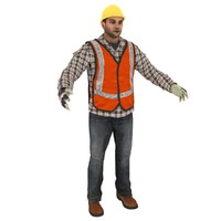 male man guy 3d model