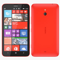 3ds nokia 1320 - red