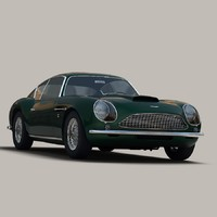3ds max aston martin db4 gt