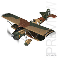 Fiat CR.32 - Italy Air Force - X Gruppo