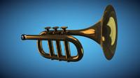 free trumpet 3d model