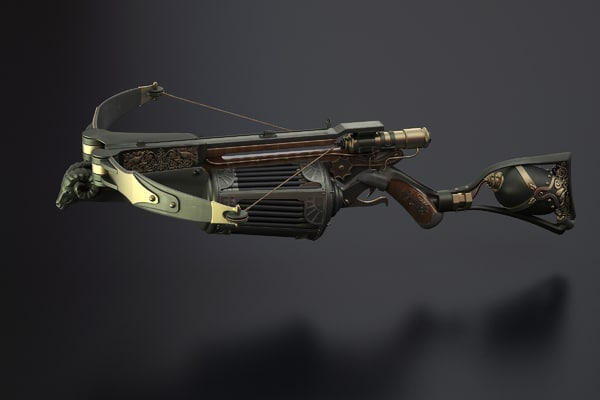 crossbow van helsing 3d model