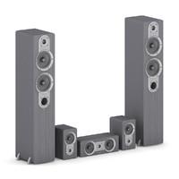 speaker set 3d max