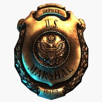 3d model deputy u s marshal