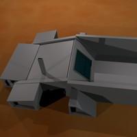 trihouse passive solar 3d blend