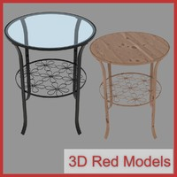 3ds max wooden table