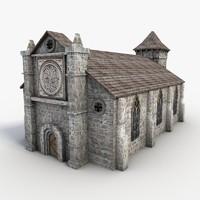 church s 3d model