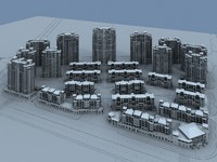 3ds max city town