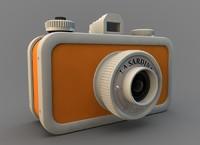 3ds max popular lomo camera
