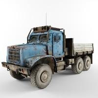 3d truck wwii model