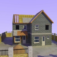 3ds max house construction