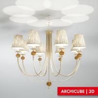 ceiling lamp 3d fbx