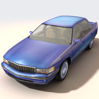 city luxury cadillac 3d model