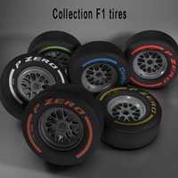F1 tire collection