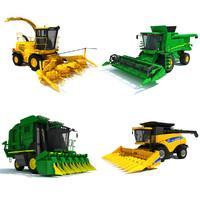 new combine 3d model