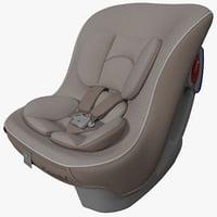 3d model convertible car seat combi