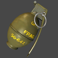 M26 Hand Grenade Game Ready