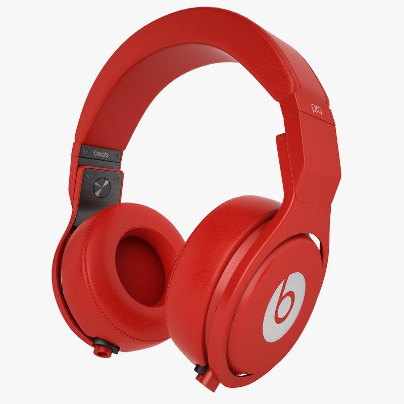 Headphones Monster Beats Pro 01_01.jpg