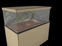 terrarium reptiles 3d model