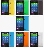 3d model nokia xl color