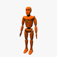 crash test dummy 3d ma