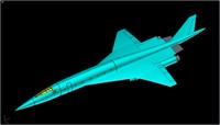 3ds tupolev tu-444 supersonic business jet