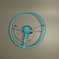 steering wheel belair obj