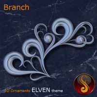 maya ornament elven