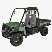 3d gator utility vehicle model