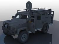3d swat van model