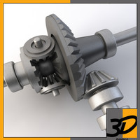 3dsmax rear differential