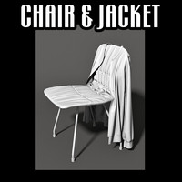 chair jacket 3d obj