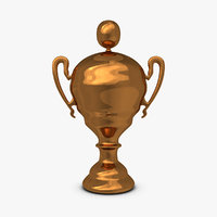 3ds max trophy cup 12