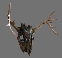 ancients mask 3d obj