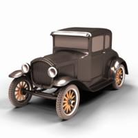 3d t 1927 model