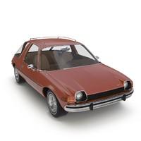3d car amc pacer model
