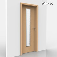 interior door elegant 50 3d model