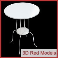 3d model table lindved