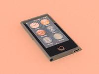 3d ipod nano 7 model