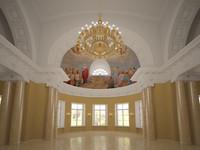 church interior empire style 3d model