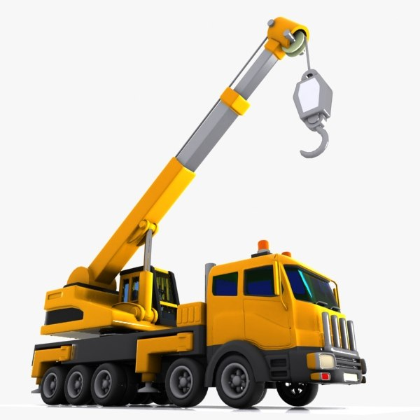 Crane Cartoon Image