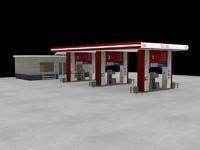 filling oil 3d max