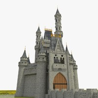 3d model of castle building