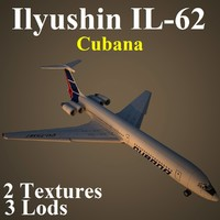 ilyushin cub 3d model