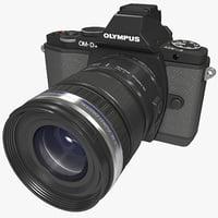 3d olympus om-d e-m5 model