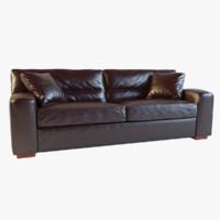 3d max panther grand sofa