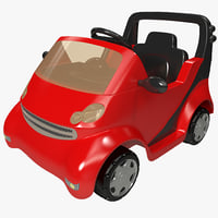 pedal car 3 3d c4d