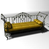 3d sofa frame
