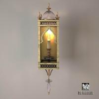 3d fine lamps byzance model